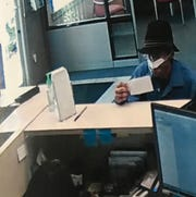 Surveillance footage from SC Telco Bank in Taylors.