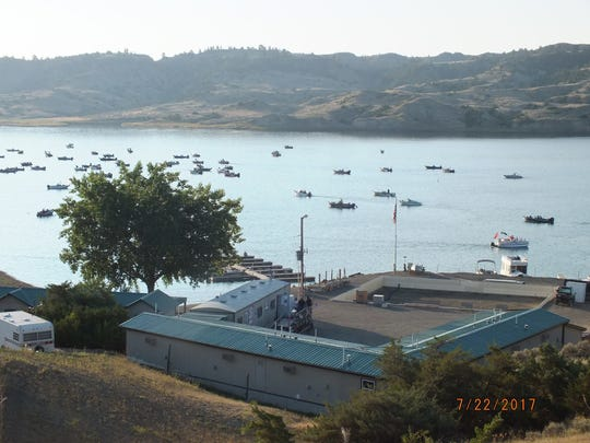 The marina operates on a lease from Montana State Parks, which oversees adjacent Hell Creek State Park.