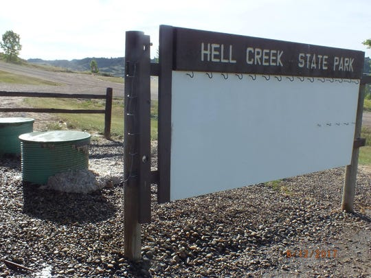 Hell Creek State Park is about 25 miles north of Jordan and is one of 54 state parks.