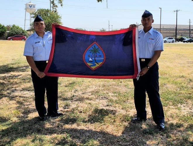 Congratulations to Airmen Kolby Corpuz (left), son of Patrick and Angela Corpuz  and Noah John Quinata Rosalin (right) son of Benny Jr. and Trisha Rosalin. Rosalin and Corpuz of TRS 522 FLT 590, graduated from BMT August 16 in Lackland Air Force Base San Antonio, Texas.