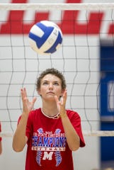 "Bridget Balcerak is considered the ""heart and soul"" of the Martinsville volleyball team for her resilience in the face of multiple health challenges."