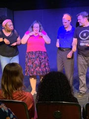 Silverbacks Improv Theatre will perform Friday at Cité des Arts.