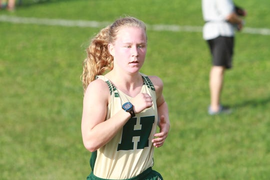 Jessica Pennala is one of four returning runners from Howell's lineup for the state meet.