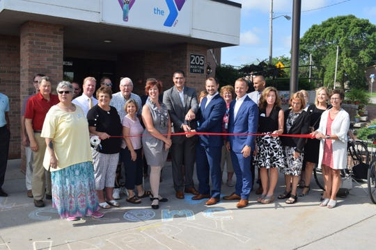 Manitowoc-Two Rivers YMCA cut the ribbon on its $4 million renovation Wednesday.