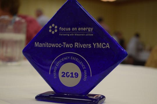 Manitowoc-Two Rivers YMCA was honored with the Energy Efficiency Excellence Award from Focus on Energy for its renovation work.