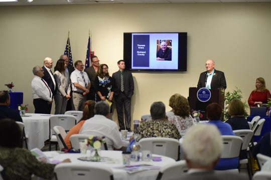 Thomas Kranz, of Shiloh, was honored Thursday by the Ohio District 5 Area Agency on Aging.