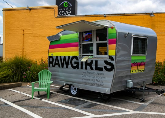 Raw Girls food truck at 534 S Cooper St.