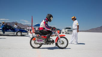 Joey Haupt and Andy Pickett shared a love of motorcycles and decided to try to set a speed record. Andy continued the quest after Joey's death.