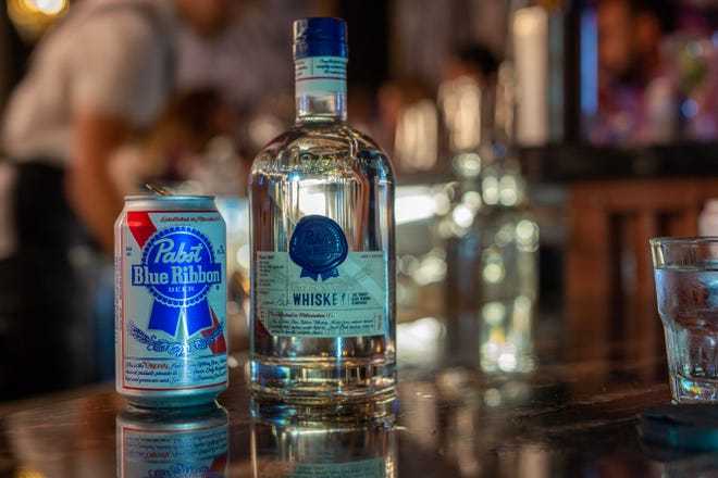Pabst Blue Ribbon recently released its first whiskey.