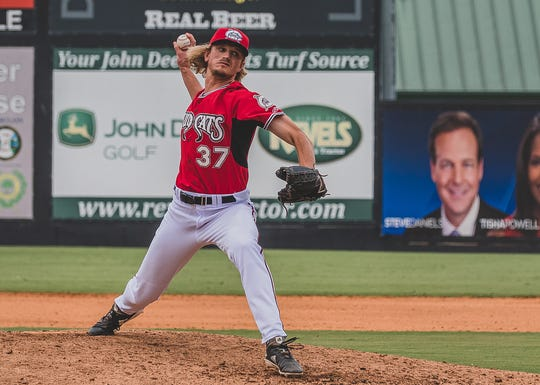Former Oaks Christian star Phil Bickford has been shining on the hill for the Carolina Mudcats.
