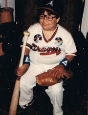 Young Steven Reeves was a fan of Braves baseball.