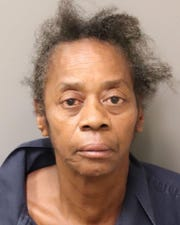 Barbara Norman was charged with domestic violence after she allegedly stabbed her husband.