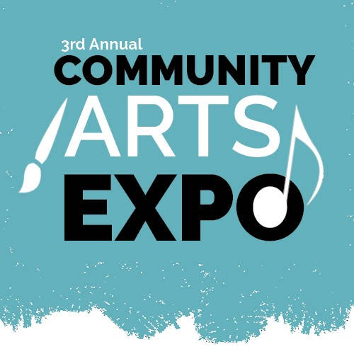 More than 30 exhibits, featuring arts organizations and artists, will be attending the 3rd Annual Community Arts Expo on Aug. 29