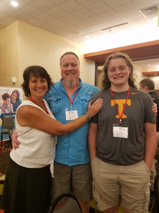 Janet and Stephen Patterson sent their son, Brock Patterson, off to University of Tennessee-Knoxville this year.