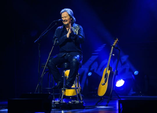 Travis Tritt performs an acoustic show at the Franklin Theatre on Jan. 13, 2014.