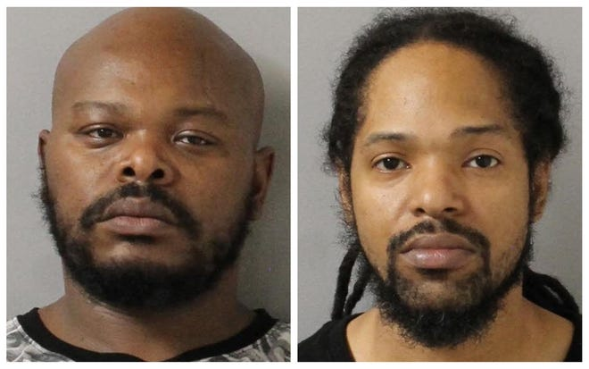 Rodney Wells (left) and Michael Mimms (right)