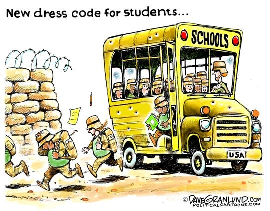 New dress code for students.