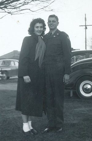Paul McKee and Ruth McQueen in 1951.