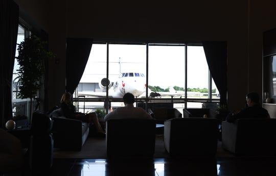 Jet Aviation at Teterboro airport
