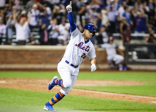 Ny Mets Beat Clevelend Indians On Jd Davis Walk Off Hit In