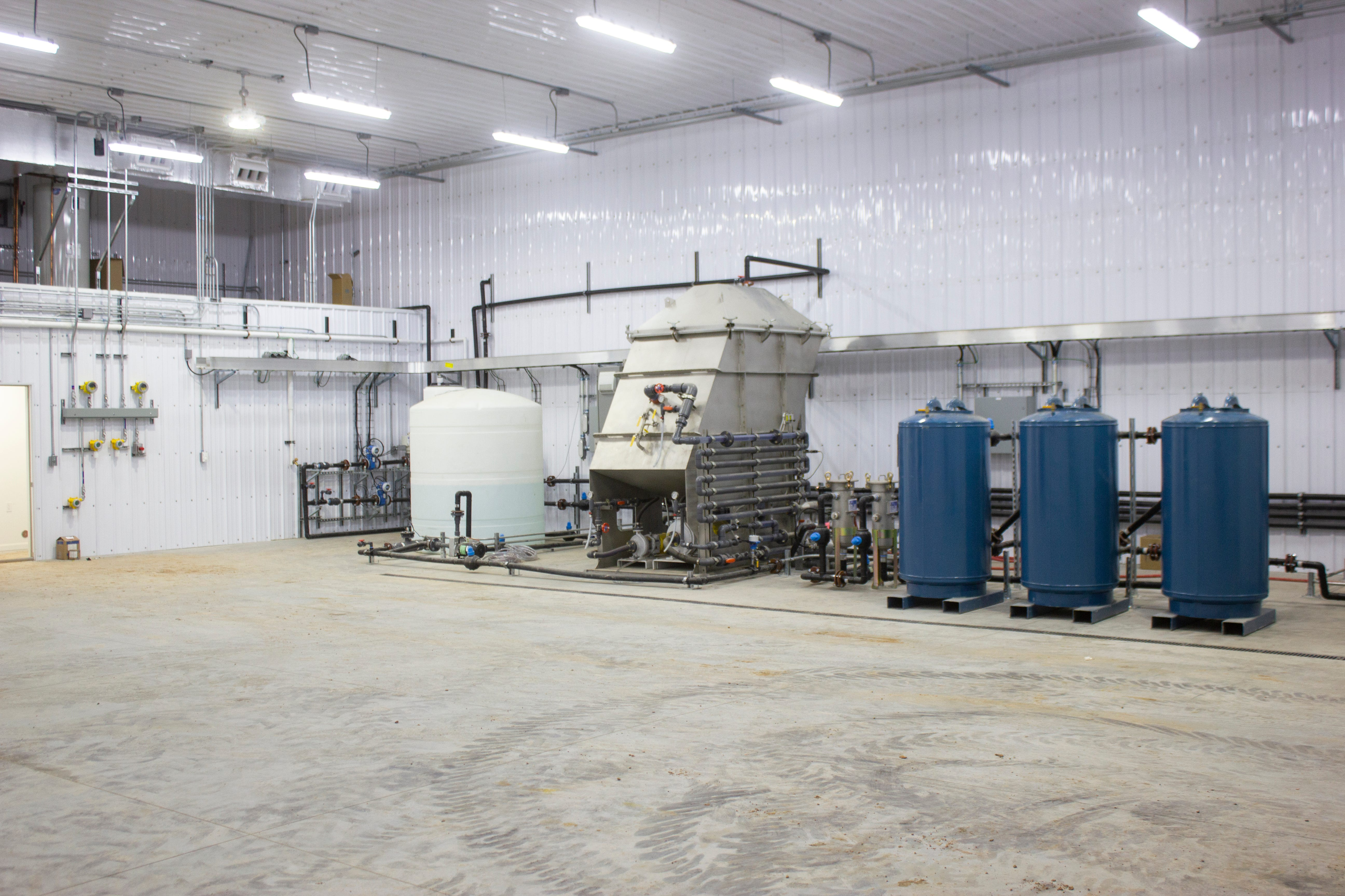 The Energy & Environmental Research Center in North Dakota constructed a first-of-its-kind brine treatment technology development and test site. The EERC is testing ways to ultimately reduce disposal volumes of waste water produced from fracking.