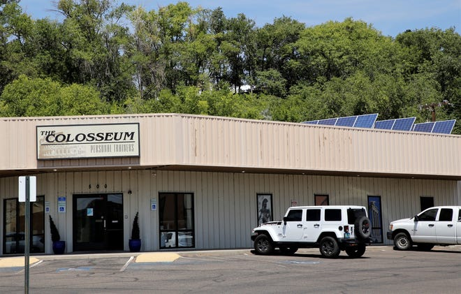 The Coliseum is one of several plaintiffs in a lawsuit against the City of Farmington. The plaintiffs allege Farmington has unfair charges for customers who have solar panels. The Coliseum has an approximately 11 kilowatt solar array on its roof.