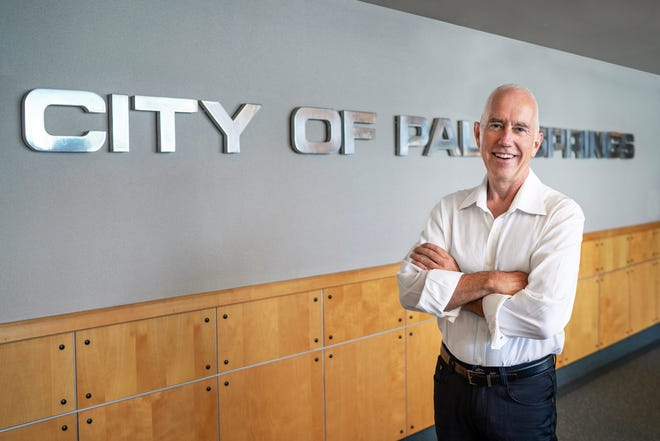 Dennis Woods, chair of the Palm Springs Planning Commission, is running to become the city's first representative from District 2.