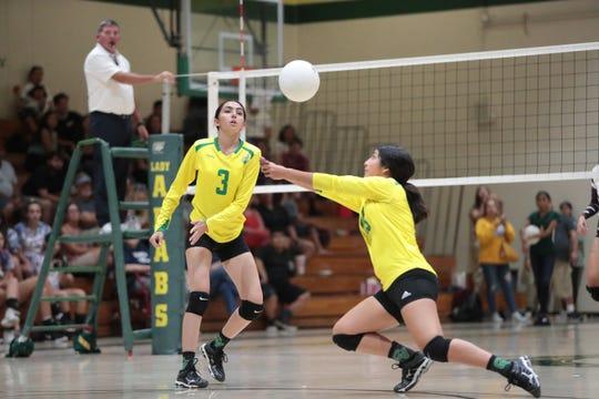 Coachella Valley High School won a pair of Desert Valley League girls volleyball matches this week.