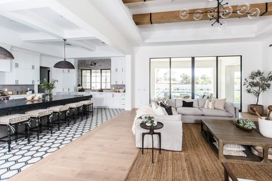 Jeffrey and Lisa Bower paid $2.43 million for this home in Scottsdale.