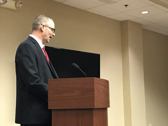 Scott Pietrzak was the first to take questions from St. Clair officials about filling the city's vacant superintendent gig. He was a long-time official in Pleasant Ridge and lastly its acting city manager until this year.