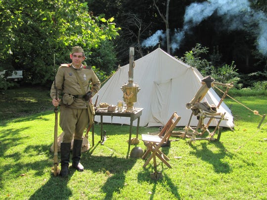 The Ma & Pa Railroad Heritage Village will host a World War II encampment Saturday and Sunday, Aug. 24-25.