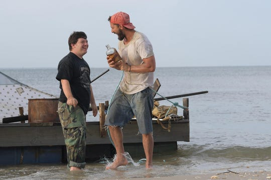 "Jack Gottsagen, left, and Shia LaBeouf star in ""The Peanut Butter Falcon."" The movie is playing at Regal West Manchester and R/C Hanover Movies."