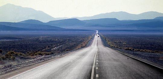 Highway 50, the loneliest road in America, crosses Nevada.