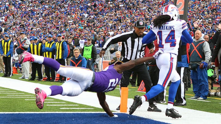 Oct. 19 Bills Game of the Day: Sammy Watkins has his breakout day in victory over Vikings