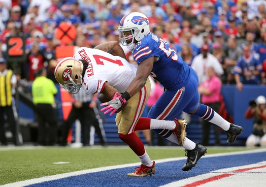Jerry Hughes joined the Bills in 2013 and is now the longest-tenured member of the team.