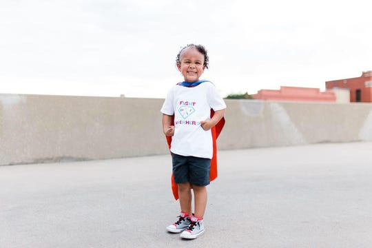 San Angelo boy fighting third round of cancer as he begins kindergarten