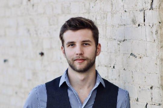 Evan Hammond, baritone for Shreveport Opera.