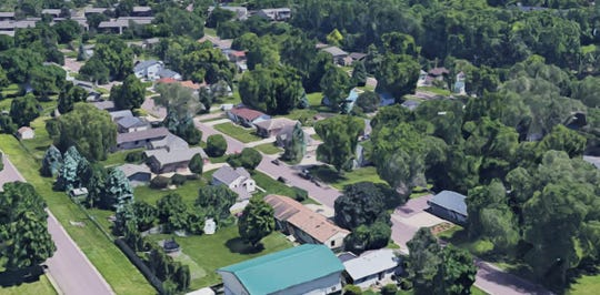 55 homes in the Rose-Lotta neighborhood are being targeted for removal to create more green space and improve drainage issues in the southern Sioux Falls neighborhood.