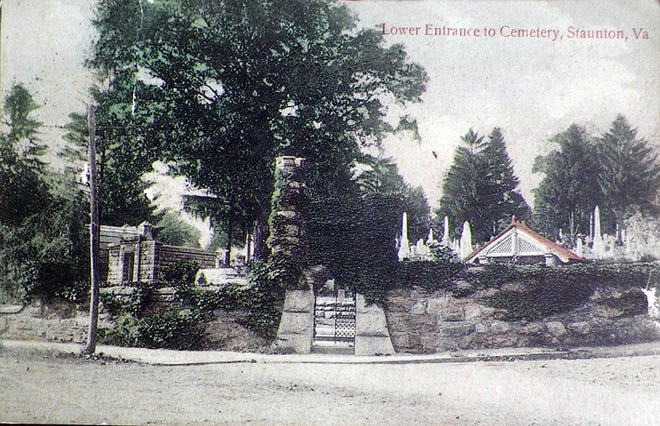 "It was near here — the ""lower"" or easternmost entrance to Thornrose Cemetery — that a bizarre and unexpected event scared the daylights out of a cemetery workman."