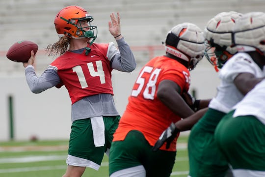FAMU senior quarterback Ryan Stanley has strong chemistry with his offensive players. This will be play a key role in the season opener versus UCF.
