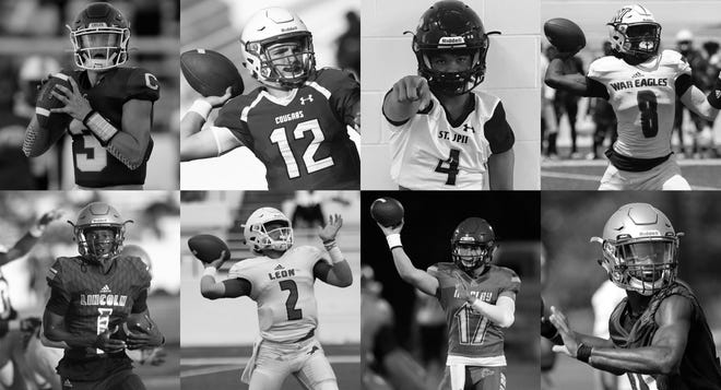 Eight senior quarterbacks will start this season in the Big Bend. They are Chiles' Garrett Greene, Godby's Trey Fisher, St. John Paul II's Bryson Hill, Wakulla's Jaylon Worsham, Lincoln's Chris Beard, Leon's Paxton Tomaini, Maclay's Brecht Heuchan and Florida High's Willie Taggart Jr.