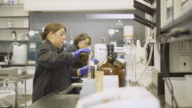 El Paso Water lab employees assess more than 45,000 samples a year to test water quality.