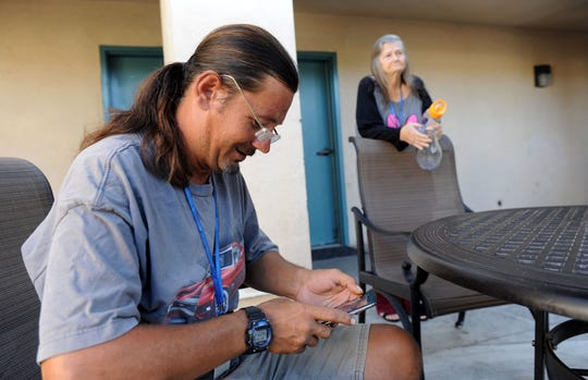 Michael Tillery sees his time at a National Health Foundation recuperative care program as a way to propel himself from homelessness.