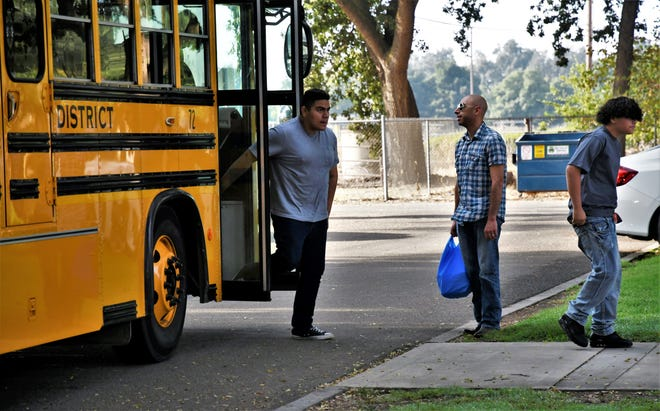 Tulare County sheriff's deputies have been called to Creekside Community Day School three timesin the first five days.