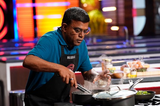 "MasterChef contestant (and West Nyack resident) Subha Ramiah in the ""Family Reunion"" episode of the FOX culinary show."