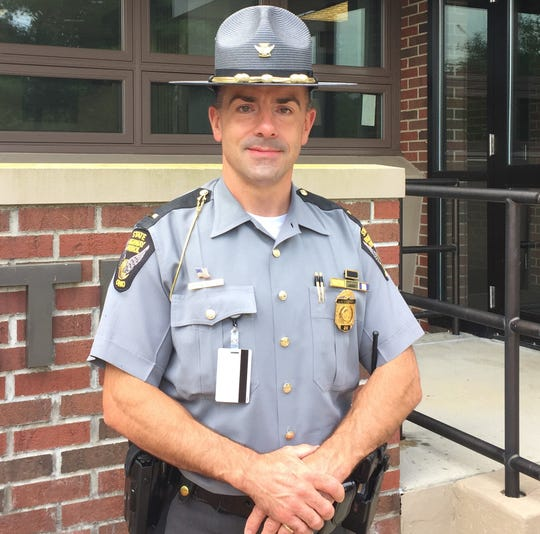 Lt. Russell Pasqualetti is the new commander for the Zanesville Post of the Ohio State Patrol. He replaced Lt. Matt Boyd who was promoted to assistant district commander at the Cambridge district headquarters.