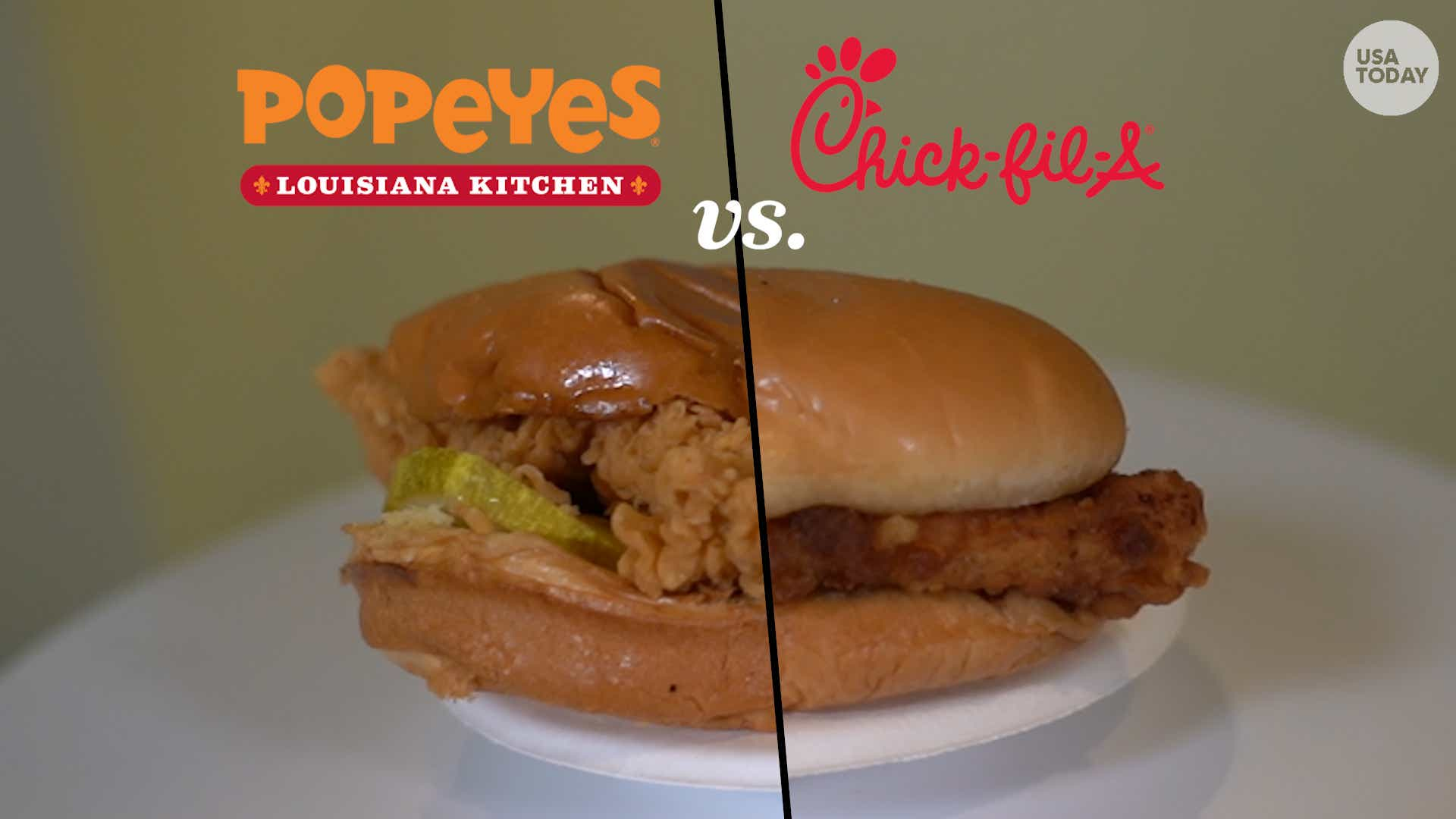 Popeyes Vs Chick Fil A Southerners Try To Settle The Great Chicken Sandwich Debate