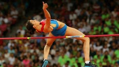 Russian high jumper Maria Lasitskene is frustrated with her country's slow progress in response to a doping scandal.