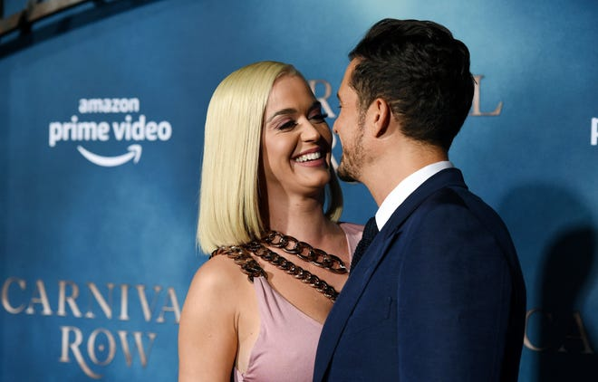 Katy Perry and Orlando Bloom got engaged in February, when he proposed on a Valentine's Day helicopter ride.