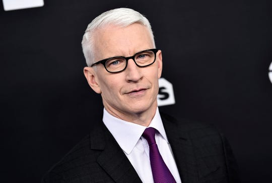 Anderson Cooper at the Turner Networks Upfront on May 16, 2018, in New York.